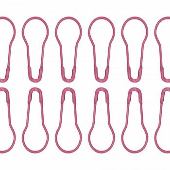 Pink knitter's Safety pins