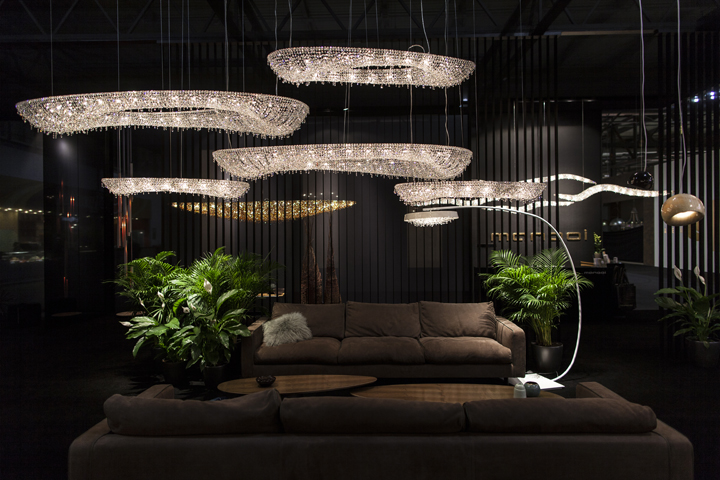 Polaris crystal chandelier - Manooi