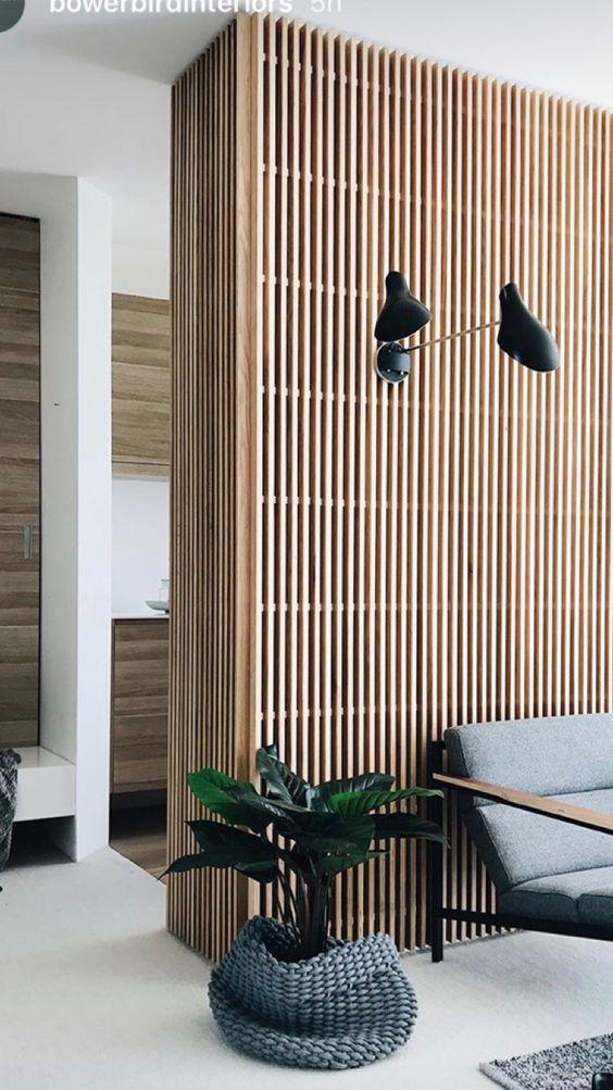 De houten wand weer hip in je interieur  NoSiss