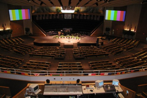 House of Worship technology systems needs are complicated and we have been there and done that. We know audio, video, lighting, acoustics, control, infrastructure, aesthetics and budgets.