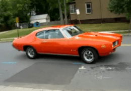 RA III GTO Judge Rolling Burnout