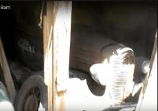 Abandoned Trucks in Barn
