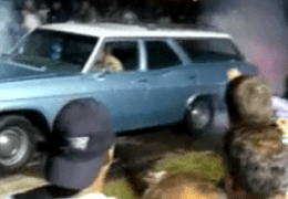 1965 Impala Wagon Burnout
