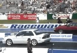 Mitsubishi vs Ford PINKS