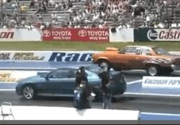 New GTO against 80's Malibu