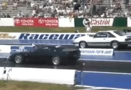 Quick Vette vs Mustang