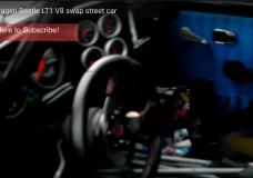Inside the V8 LT1 swapped VW