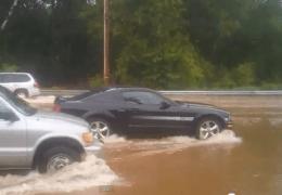 Flood on Rt202