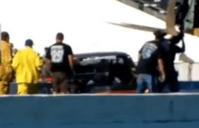 Nova wrecks at Shakedown