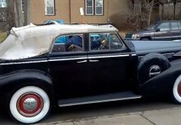 1938 Buick 4 Door Convertible was sold today and left the lot