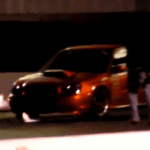 Jr driving TurboTrix STi