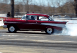 90' Mustang vs 57 Chevy for an old vs newer Drag Race