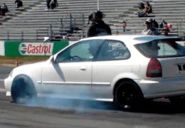 Obnoxious Honda on Muffler Day