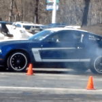 Mustang vs Boss Drags