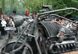 Tank Bike