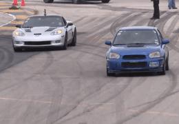 WRX Drag racing