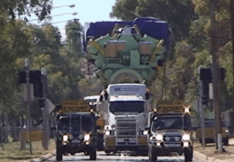 Giant Road Train Diesel