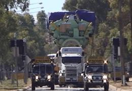 Giant Road Train Diesel