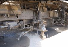 Mobile Generator damage