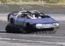 Hovercraft Delorean