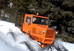 Tucker Snow Cat Deep Snow