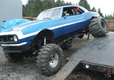 Ford under Camaro
