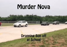 The Murder Nova can waist cars at the races and then drop the kids off at school the next day proving that it is a multi purpose vehicle