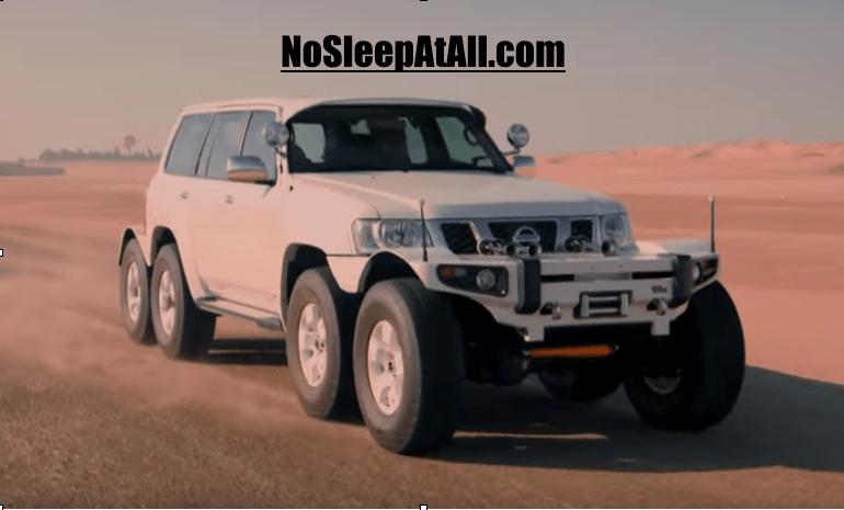 Mercedes G63 AMG 6x6 isn't the wildest | NOSLEEPATALL