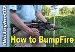 How to Bump Fire without a Bump Fire Modified Gun