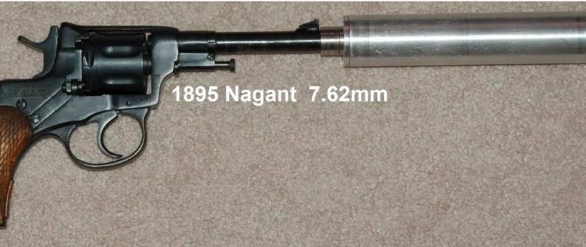 revolver silenciador