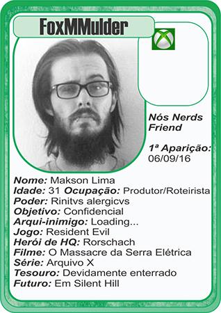 Card Makson Lima S