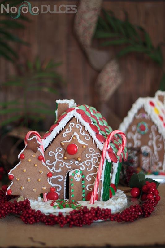 Casitas de jengibre para Navidad Gingerbread Houses  No