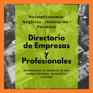 Directorio de Empresas y Profesionales de NoSoloEconomia