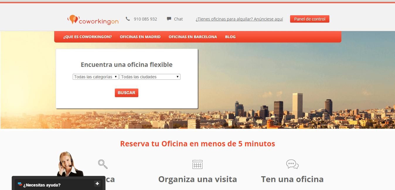 CoworkingON web