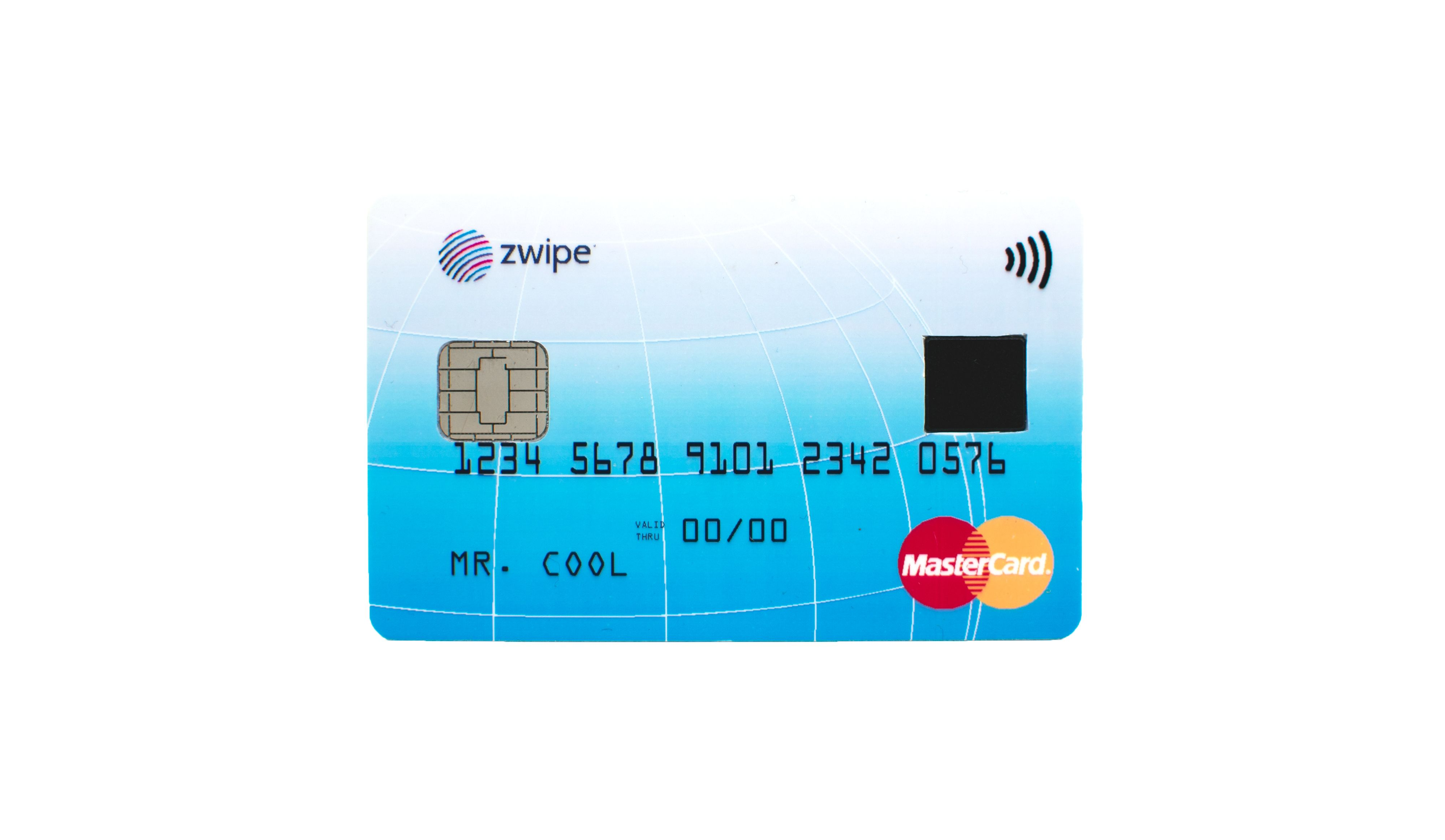 Payment card  ISO format available 2015 2