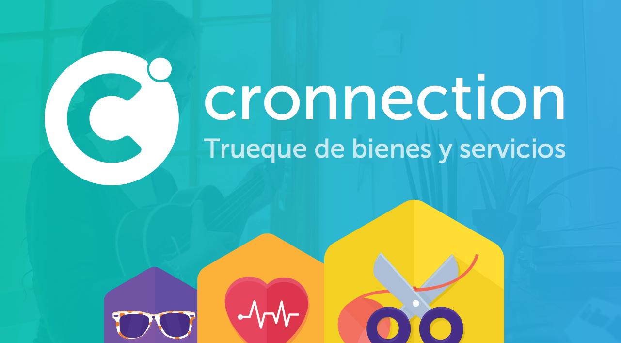 Con Cronnection podrás intercambiar tu tiempo, tus habilidades o tus objetos