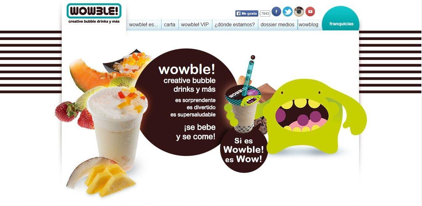 Wowble!, un nuevo concepto de bebida llega a España