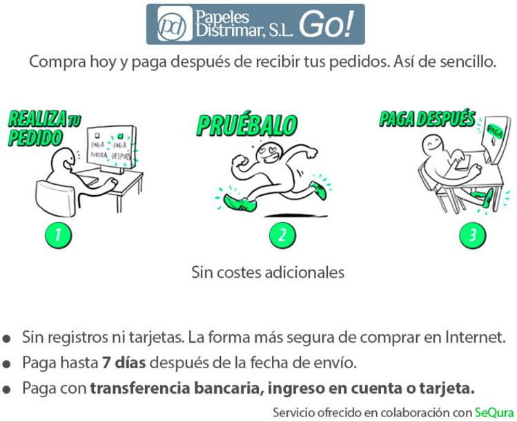 Ditrimar Go!, una nueva forma de pago de Papeles Distrimar