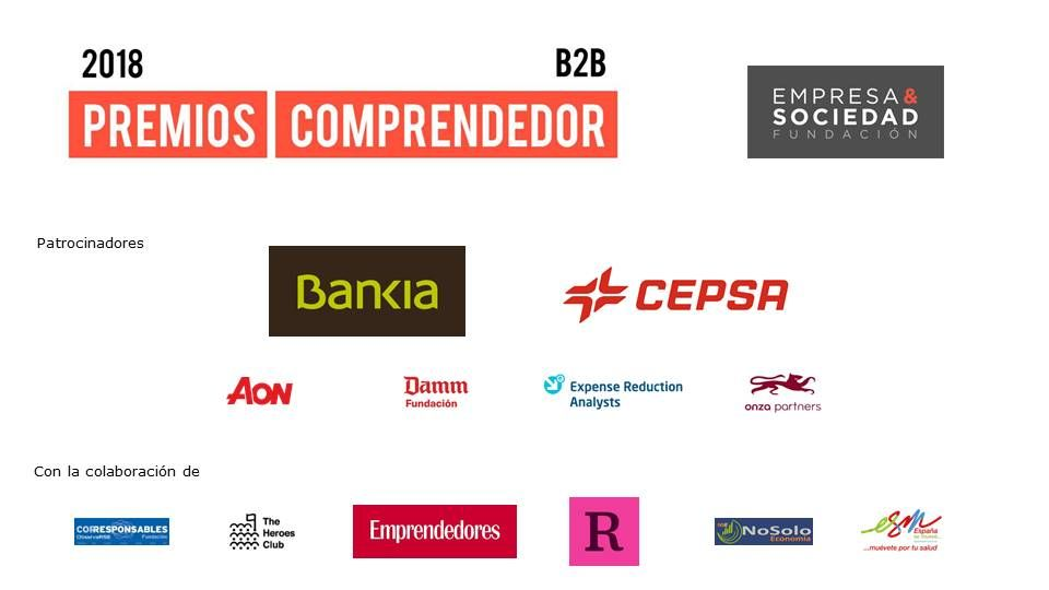 NoSoloEconomia, Medio Colaborador en los Premios Comprendedor 2018