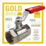 Nueva válvula MT GOLD SERIES PN30