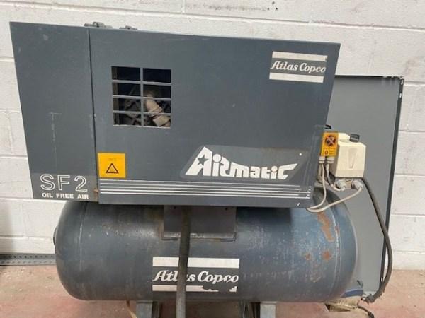 Compresor exento de aceite ATLAS COPCO SF-2