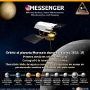 La sonda Messenger, primera y última en orbitar Mercurio