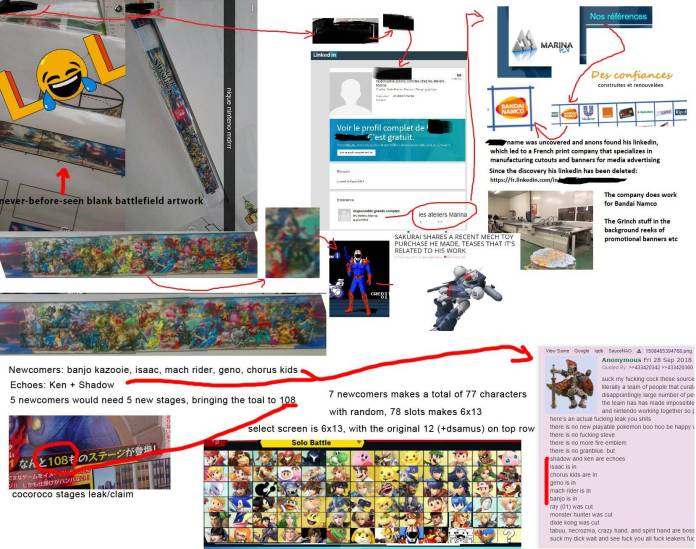 [Rumor] Se filtra la lista completa de Super Smash Bros. Ultimate 1
