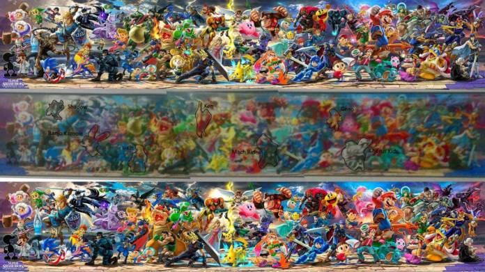 [Rumor] Se filtra la lista completa de Super Smash Bros. Ultimate 2