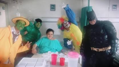 Entrevista: Superhéroes entregan esperanza en Aguascalientes 2