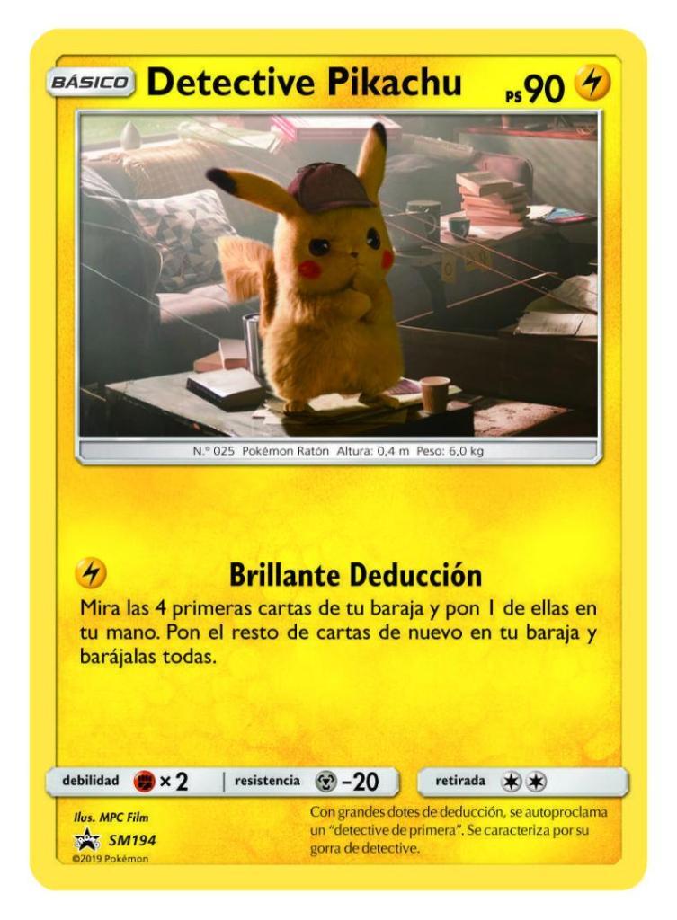 Mira los productos de la película de Pokémon Detective Pikachu 2