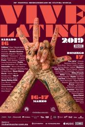#20añosVL19: Conoce a todos los artistas del Vive Latino 2019 ? 1