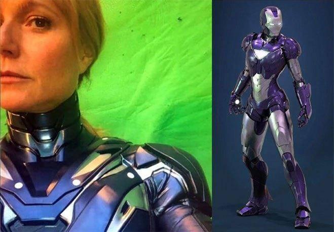 Avengers: Endgame, se filtra el primer vistazo de Pepper Potts como *Spoiler* 1