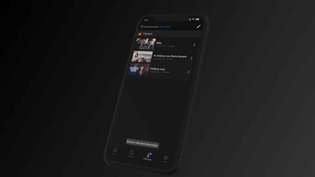 Netflix lanza la función de autodescargas en dispositivos iOS 3