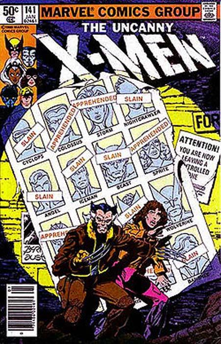 Uncanny X-Men #141-142.